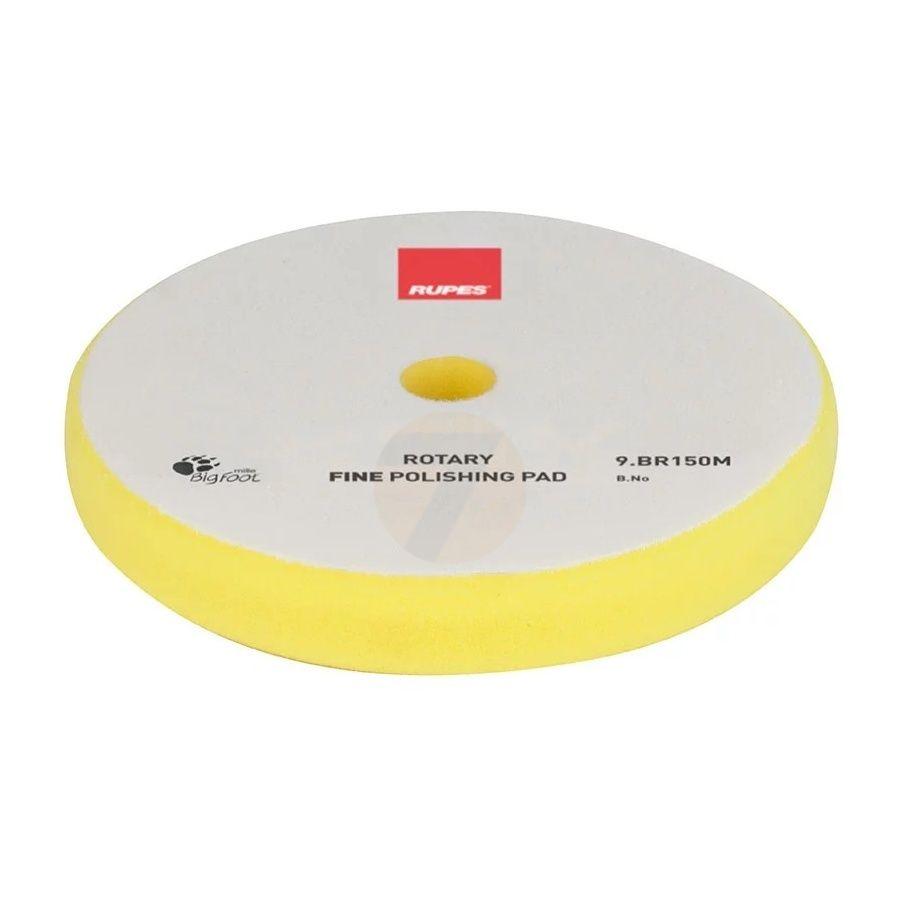Rupes Rotary leštící kotouč měkký žlutý 135 mm