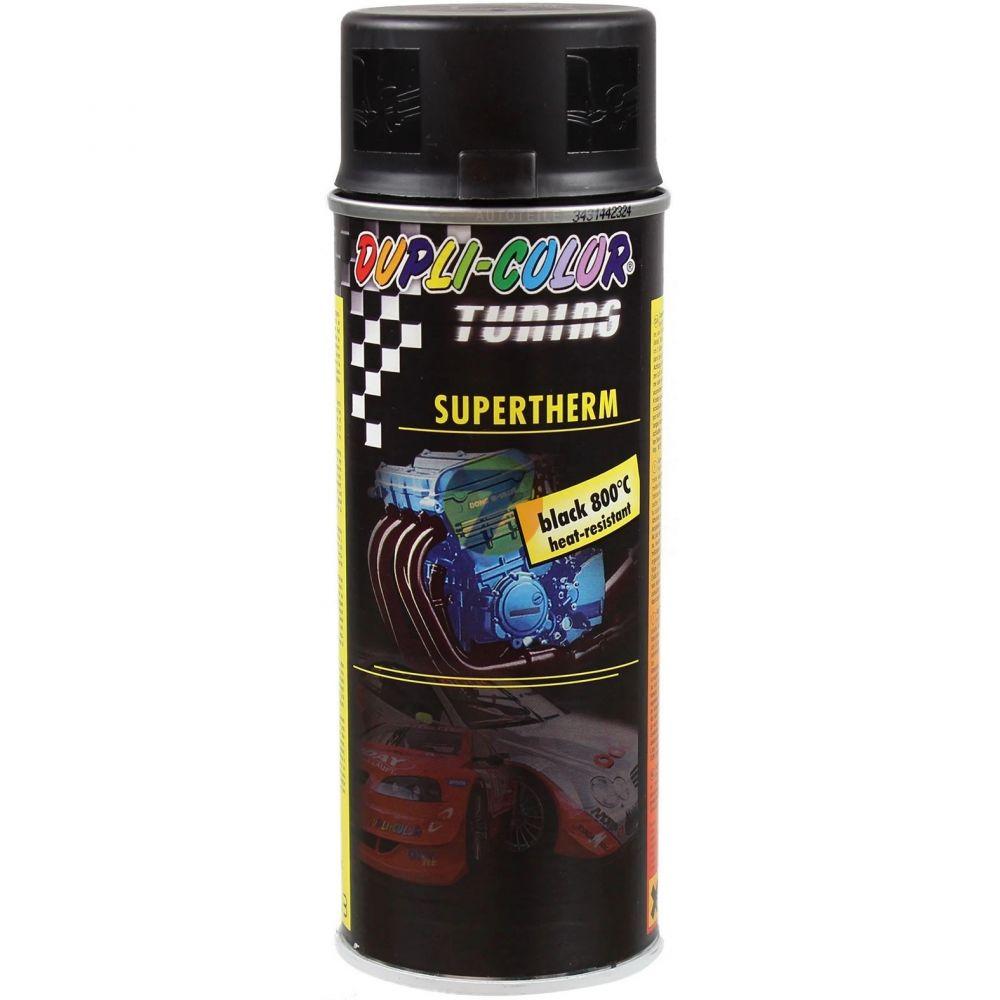 Motip Dupli Supertherm super žáruvzdorná černá barva 800°C ve spreji 400ml