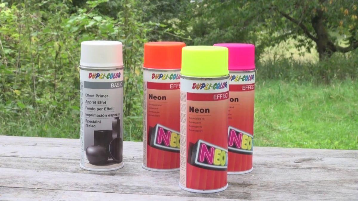 Dupli-Color Neon fluorescent yellow spray 150ml