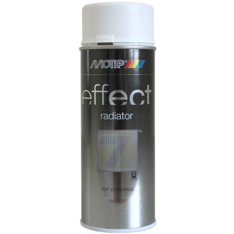 Motip Effect radiator white matt spray 400 ml