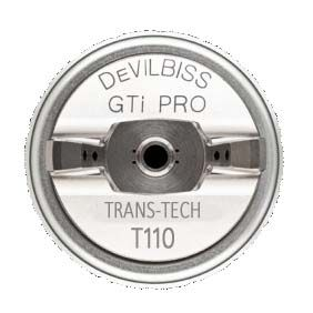 Devilbiss GTI Pro Lite Spray Gun T110 1.2/1.3mm Gold