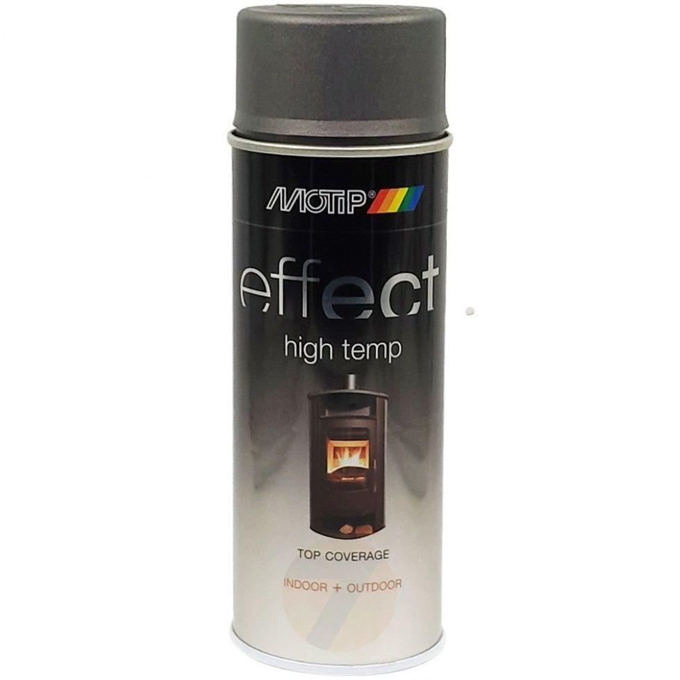 Motip Effect high temp dark anthracit spray 400 ml