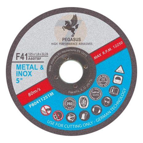 Cutting disc 115 x 1.0 mm metal, inox