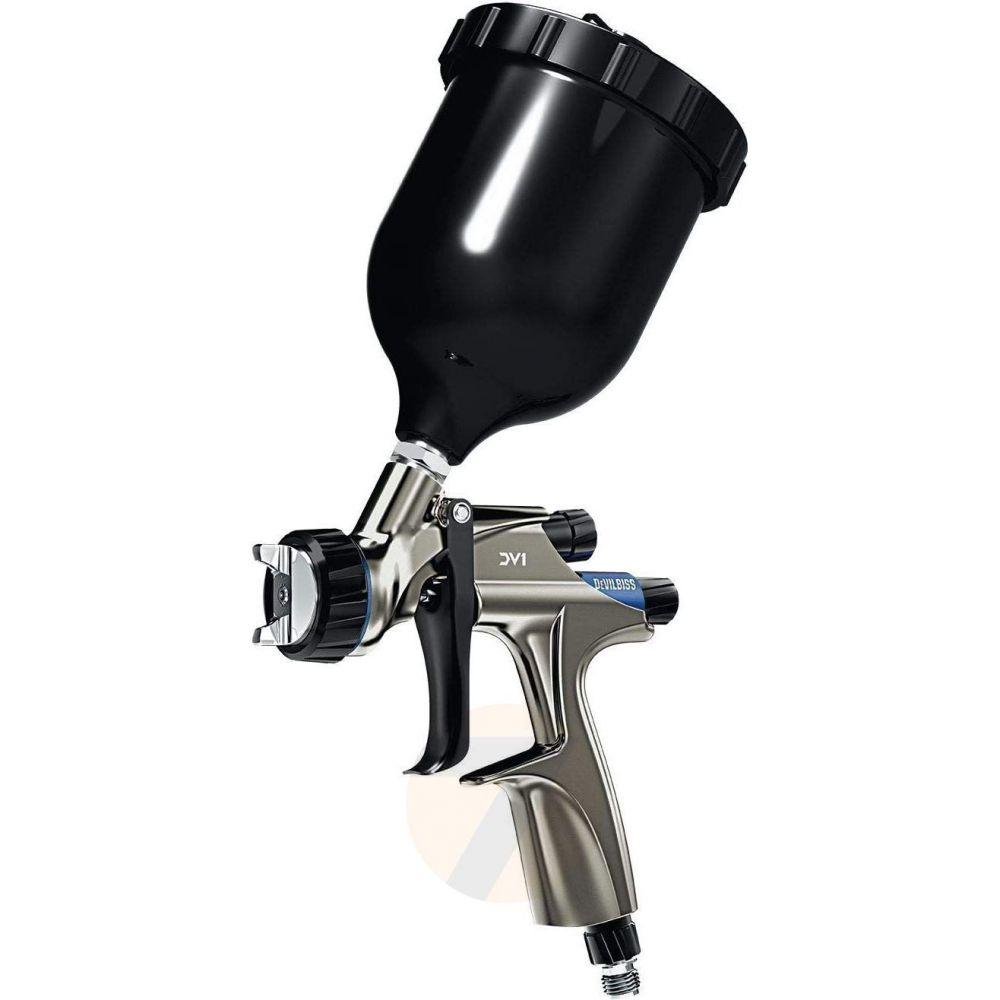 DeVilbiss DV1 HVLP Plus Base Spraygun 1.3+ Cup Kit