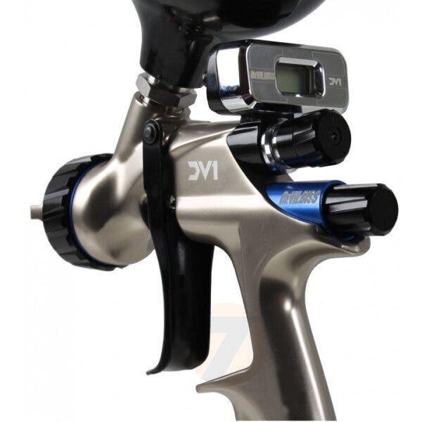 DeVilbiss DV1 Digital HVLP Plus Base Spraygun 1.3+ Cup Kit