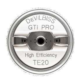Devilbiss GTI Pro Lite Spray Gun TE20 1.3/1.4mm Blue