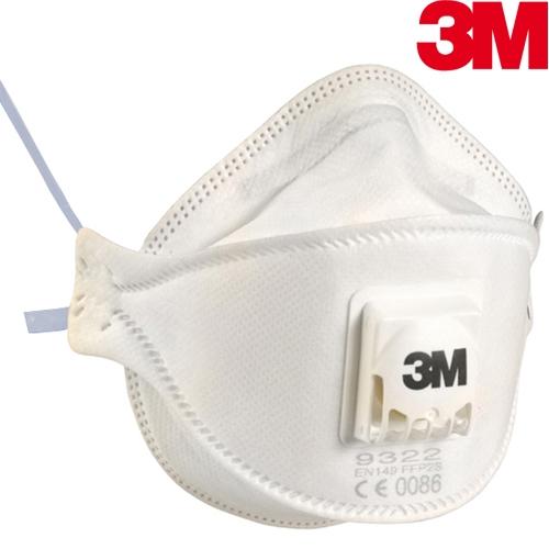 3M 9322+ Aura Particulate Respirator FFP2 Exhalation valve