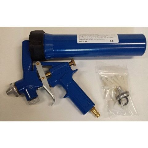 DINITROL spray guns for soundproofing and sealing materials