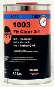 OD 1003 Fit Clear bezbarvý akrylátový lak 1ltr