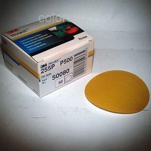 3M 50080 Hookit Brusný papír 76mm, s.zip, P500