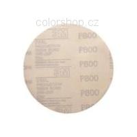 3M 00910 Hookit 260L brusný papír, 75mm, s.zip P800