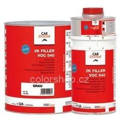 Carsystem 2K Filler VOC 540 bílý s tužidlem