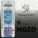 PEUGEOT M0ZD GRIS HADES metalická barva tužka 20ml