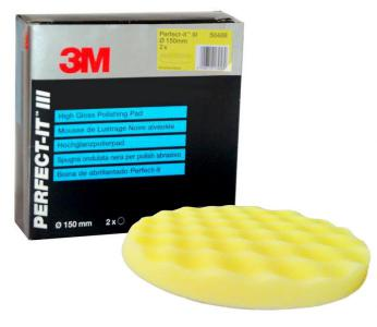 3M 50488 PERFECT-IT III ExtraFine High Gloss Polishing Pad - 150mm