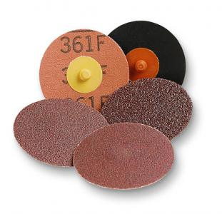 3M 22398 361F Roloc P36, D 50mm, Coated Abrasive and Scotch-Brite