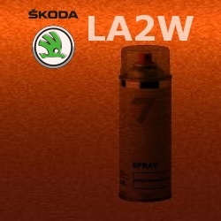 SKODA LA2W COPPER ORANGE barva Spray 400ml