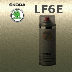 SKODA LF6E ZELENA ARMY GREEN barva Spray 400ml