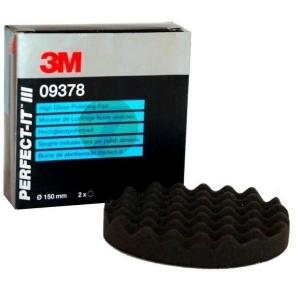 3M 9378 PERFECT-IT III Black Hight Gloss Polishing Pad - 150mm
