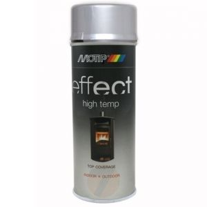Motip Effect high temp silver 800°C spray 400 ml