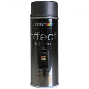 Motip Effect high temp black 800°C spray 400 ml