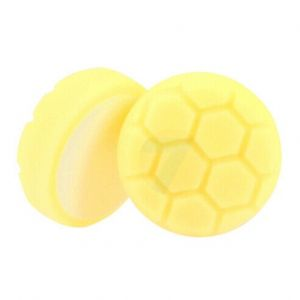 Foam polishing pad D80 yellow honeycomb