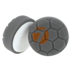 Foam polishing pad D80 black honeycomb
