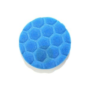 Foam polishing pad D80 blue honeycomb