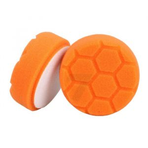 Foam polishing pad D80 orange honeycomb