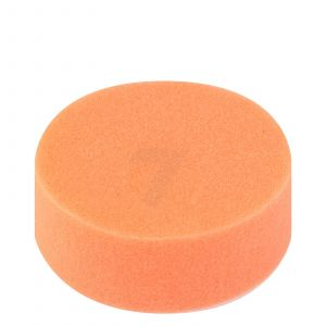 Polishing foam pad orange medium hard 125 mm