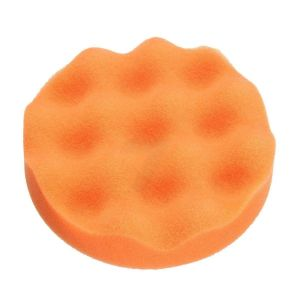 Foam polishing pad D125mm orange wafle