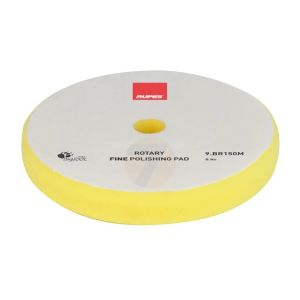 RUPES Rotary Velcro Polishing Foam Fine Yellow dia 135 mm