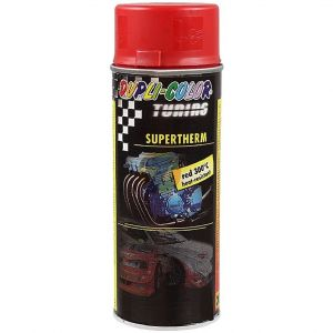 Dupli-Color SUPERTHERM heat resistant paint 300°C red spray 400ml
