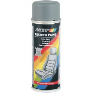 Motip Leather Paint gray Spray 200 ml