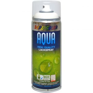 Dupli Color Aqua RAL 9010 white matt paint spray 350ml