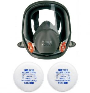 Full face mask 3M 6800 series 6000 + filter 2125 P2 R