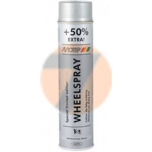 MoTip Rallye Wheel Paint silver gloss 600ml