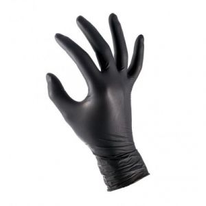 Master Nitrile examination gloves black XL