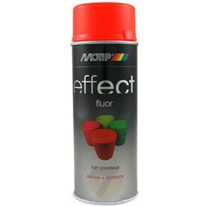 Motip Deco Effect Fluor red/orange Spray 400 ml