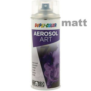 Dupli Color Clear coat Matte Aerosol Art 400ml