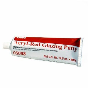 3M 05098 Acryl-Red Glazing Putty 409g