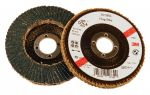 3M 65026 FLAP DISC 115MM CONICAL ZIRCONIUM 566A P60